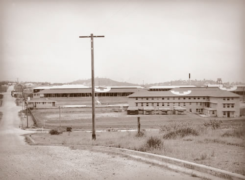 A view of the new Greenslopes Hospital, circa 1942.